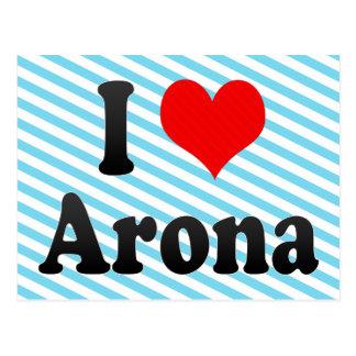 Amo Arona, España Postales