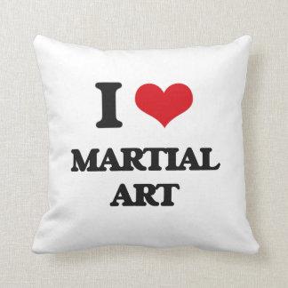 Amo arte marcial cojin