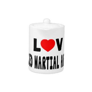 Amo artes marciales mezclados de los artes marcial