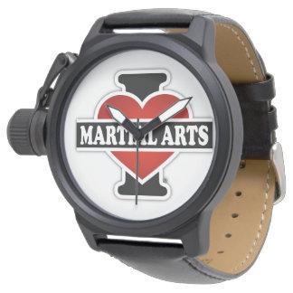 Amo artes marciales relojes de mano