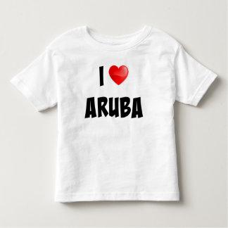 """""""Amo Aruba"""" creé la ropa para requisitos Playeras"""
