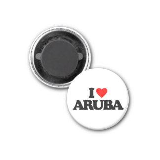 AMO ARUBA IMÁN DE NEVERA