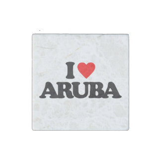 AMO ARUBA IMÁN DE PIEDRA