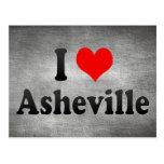 Amo Asheville, Estados Unidos Postal