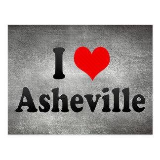 Amo Asheville, Estados Unidos Postales
