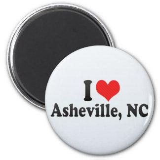 Amo Asheville, NC Imán