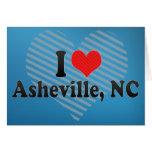 Amo Asheville, NC Tarjeton