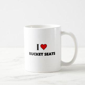 Amo asientos de cubo tazas