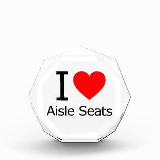 Amo asientos de pasillo