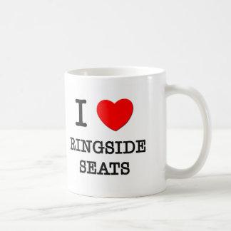 Amo asientos de Ringside Taza
