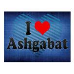 Amo Asjabad, Turkmenistán Tarjetas Postales