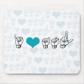 Amo ASL Mousepad Alfombrilla De Raton