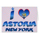 Amo Astoria, Nueva York Felicitación
