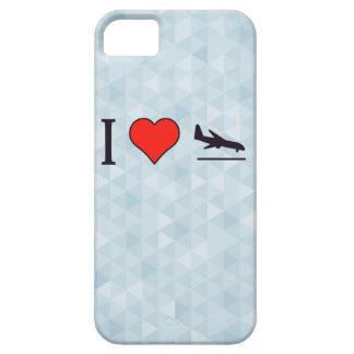 Amo aterrizajes de aeroplano iPhone 5 carcasa