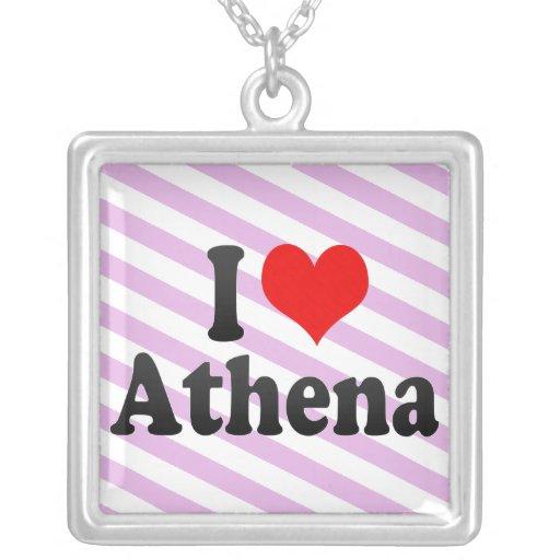 Amo Athena Colgante Cuadrado