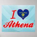 Amo Athena, Oregon Impresiones