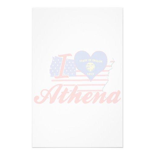 Amo Athena, Oregon Papelería De Diseño
