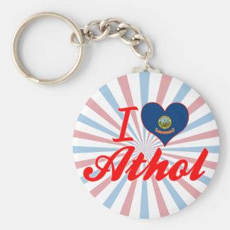 Amo Athol, Idaho Llaveros Personalizados