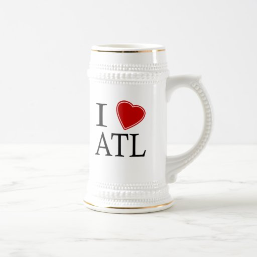 Amo ATL Tazas