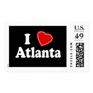 Amo Atlanta Estampillas