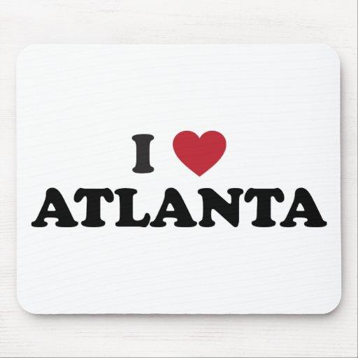 Amo Atlanta Georgia Alfombrillas De Raton