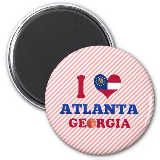 Amo Atlanta, Georgia Iman Para Frigorífico