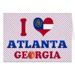 Amo Atlanta, Georgia Tarjeta
