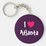 Amo Atlanta Llaveros Personalizados