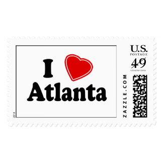 Amo Atlanta Sello Postal