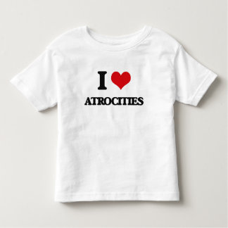 Amo atrocidades playera