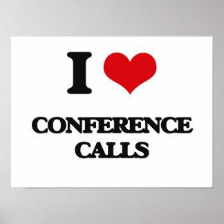 Amo audioconferencias posters