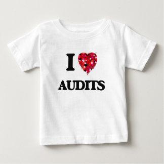 Amo auditorías tee shirt
