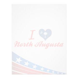 Amo Augusta del norte, Carolina del Sur Plantillas De Membrete