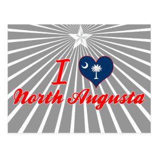 Amo Augusta del norte, Carolina del Sur Tarjeta Postal