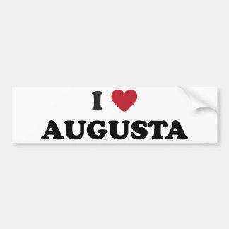 Amo Augusta Georgia Pegatina Para Auto