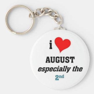 Amo augusto llaveros personalizados