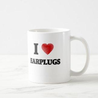 Amo AURICULARES Taza De Café