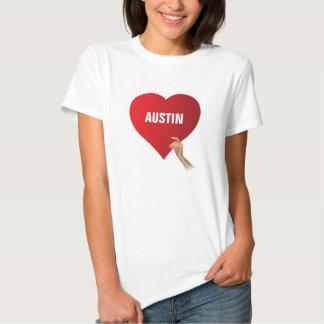 Amo Austin Playeras