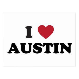 Amo Austin Postales