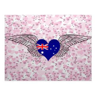 Amo Australia - alas Postales