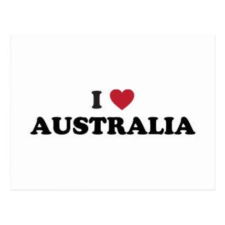 Amo Australia Tarjeta Postal