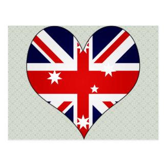 Amo Australia Tarjetas Postales