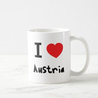 Amo Austria Taza De Café