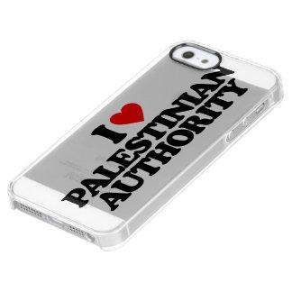 AMO AUTORIDAD PALESTINA FUNDA CLEAR PARA iPhone SE/5/5s