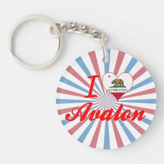 Amo Avalon California Llaveros