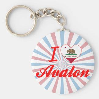 Amo Avalon California Llavero