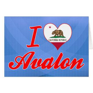 Amo Avalon, California Felicitaciones