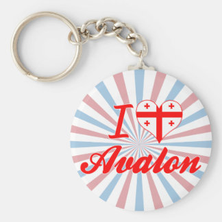 Amo Avalon Georgia Llaveros Personalizados