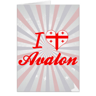 Amo Avalon, Georgia Tarjeta