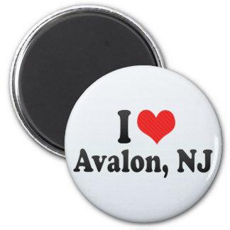 Amo Avalon, NJ Imán Para Frigorífico
